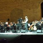 DSCF0033 - con Neri Marcorè - Sferisterio di Macerata. agosto 2019